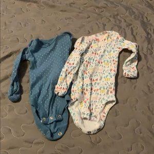 2 Carter's Bodysuits